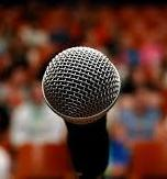microphone and audience 148